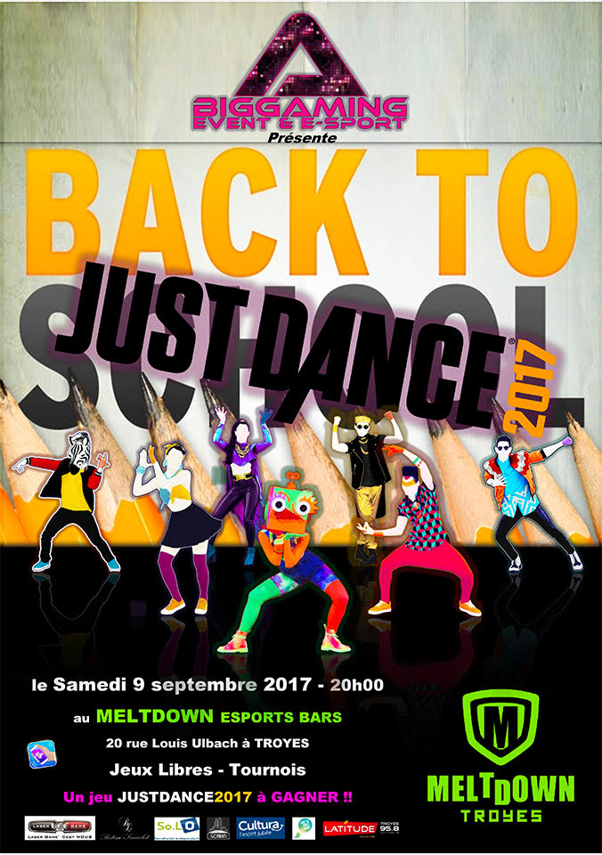 JUST DANCE MELTDOWN TROYES