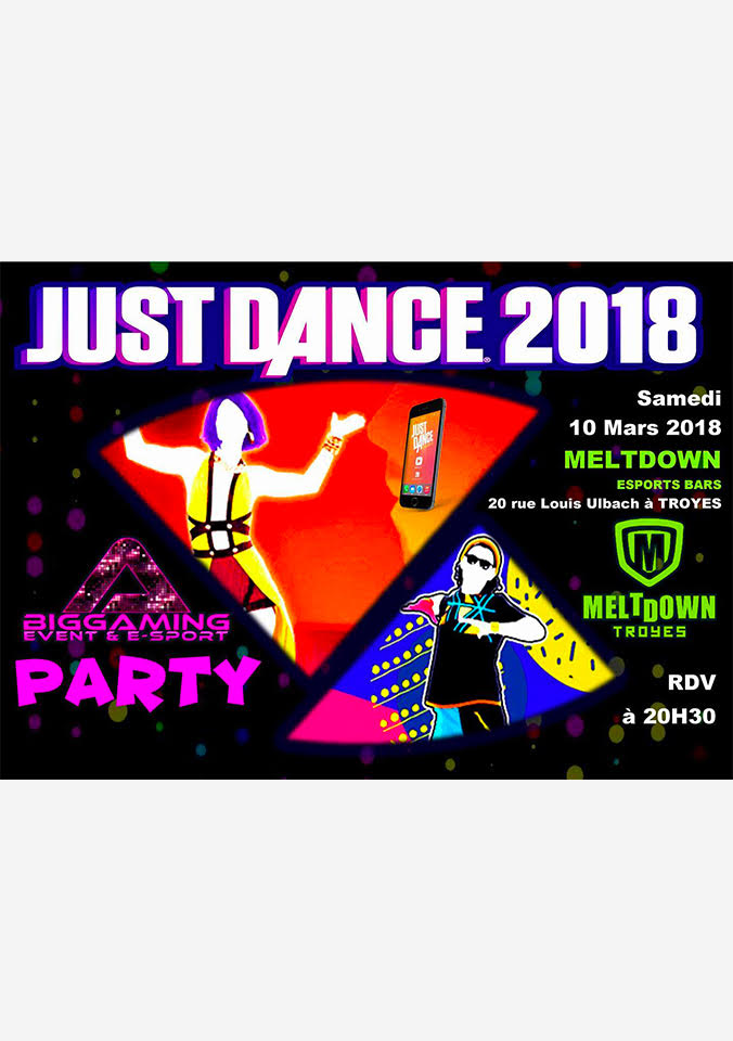 JUSTE DANCE PARTY MELTDOWN