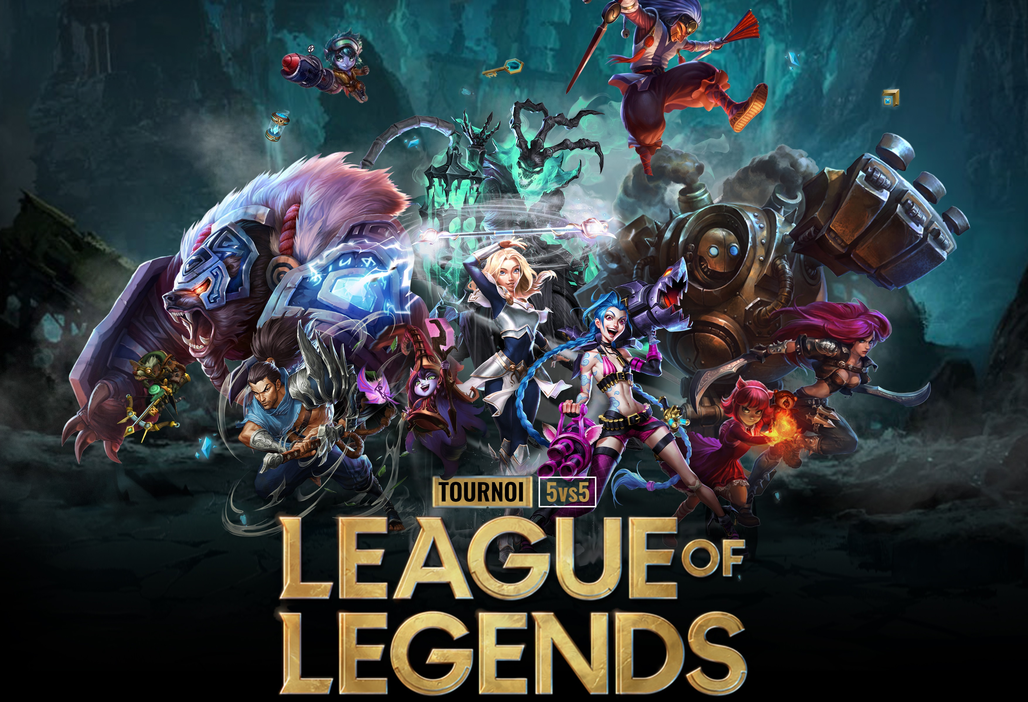 BIG GAMING CHALLENGE LEAGUE OF LEGEND